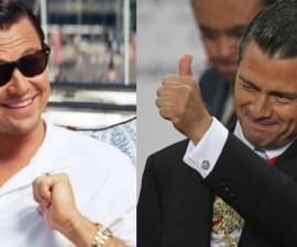 Leonardo DiCaprio y Enrique Peña Nieto