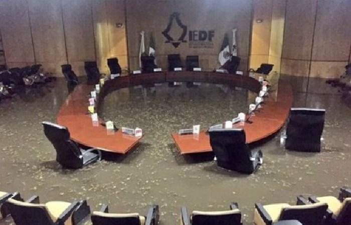 Inundación en el IEDF