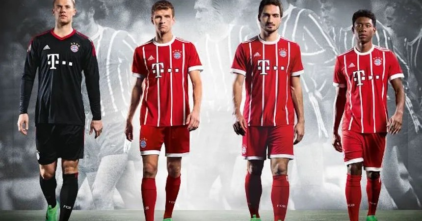 Uniforme Bayern Múnich 2018