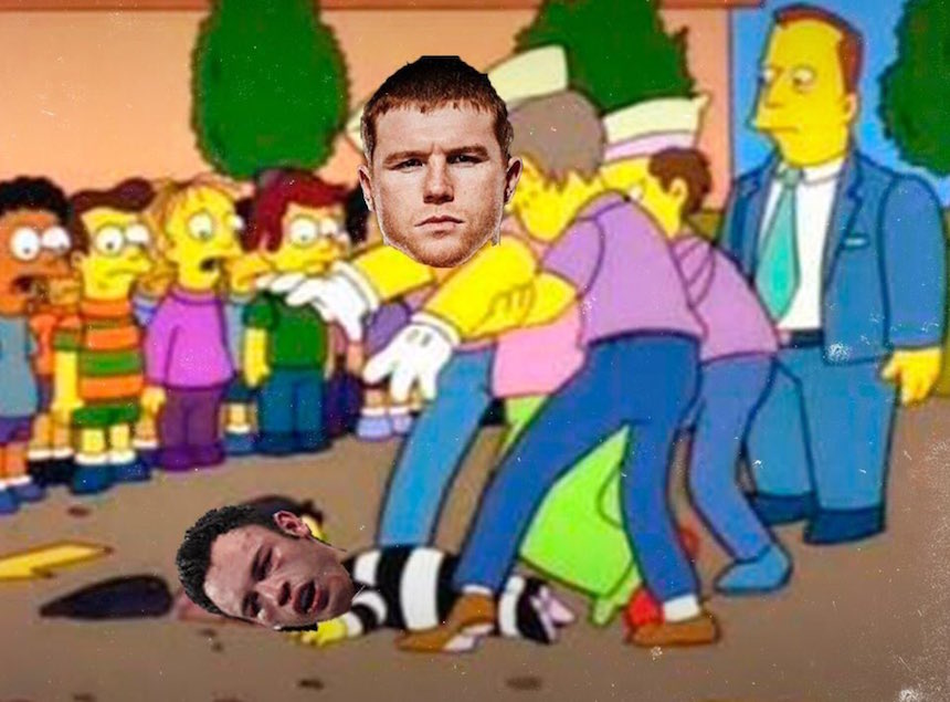 Meme Canelo vs Chávez Jr.