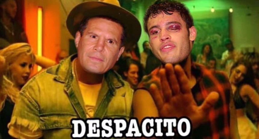 Meme de Julio César Chávez Jr.