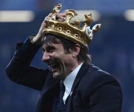 Antonio Conte con el Chelsea