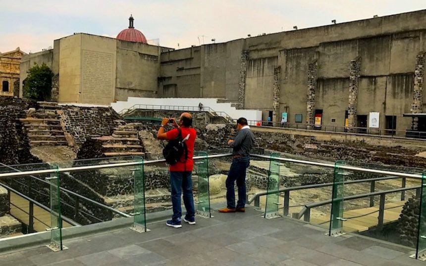 Vagando - Ruinas Coyolxauhqui