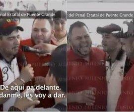 Don Chelo da fiesta en penal de Puente Grande