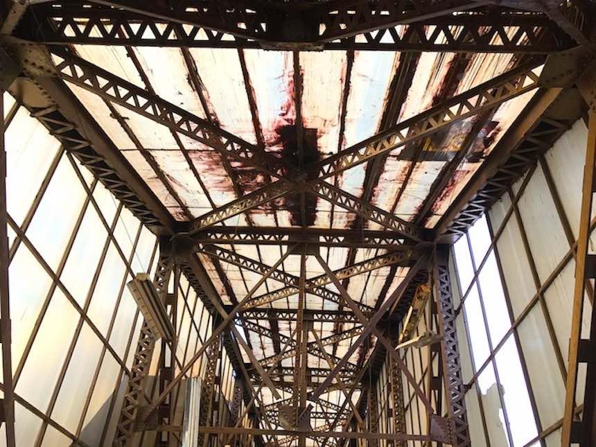 Puente de Eiffel - Pintura