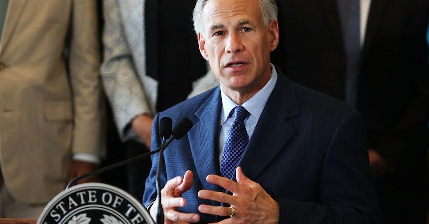 Greg Abbot, gobernador de Texas