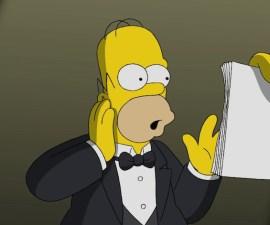 Discurso de Homero - Los Simpson