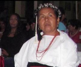 """""""Marichuy"""", candidata indígena presidencial para 2018"""