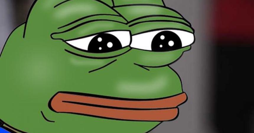 Pepe la Rana triste