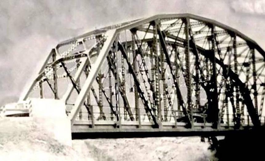 Puente de Fierro en la antigüedad