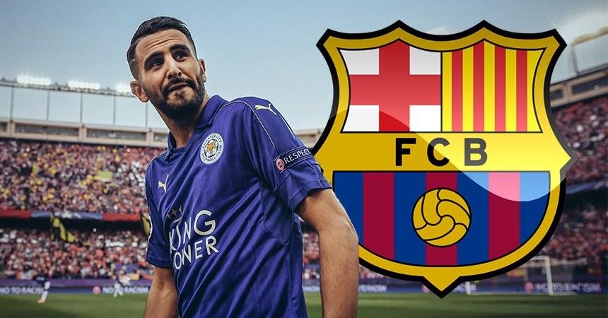 Riyad Mahrez al Barcelona