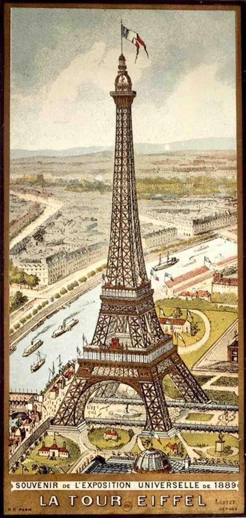 Torre Eiffel - Vintage