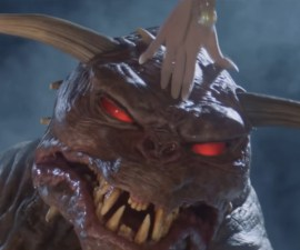Zuul monstruo de Ghostbusters - Dinosaurio