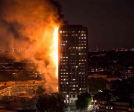 Incendio Torre en Londres