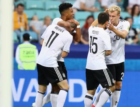 Alemania en la Copa Confederacione