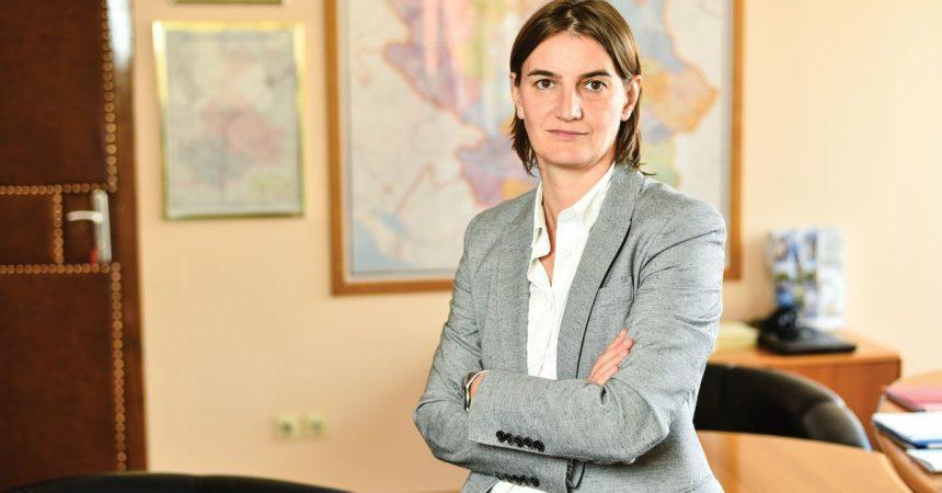 La nominada a Primer Ministro de Serbia, Ana Brnabic