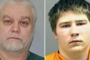 Brendan Dassey y su tío Avery