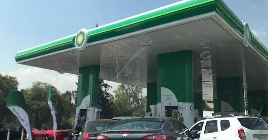 Gasolinera - Combustibles British Petroleum