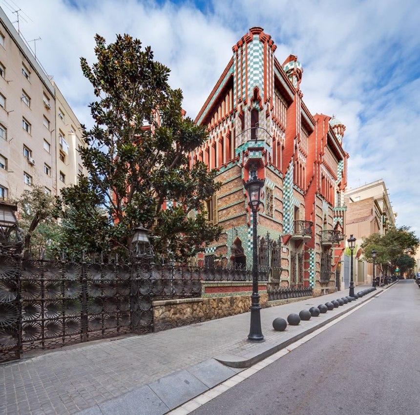 Casa de Antonio Gaudí - Vista desde la calle