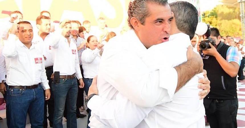 Enrique Ochoa Reza y Miguel Ángel Riquelme