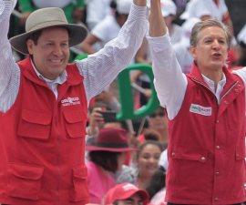 Eruviel Ávila y Alfredo del Mazo visitaron Los Pinos tras conocer resultados del conteo rápido