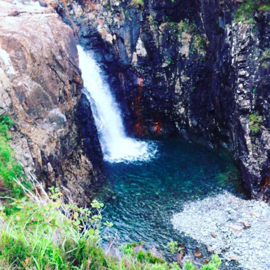 Albercas naturales - Fairy Pools