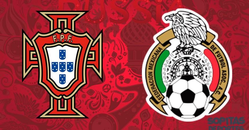 México vs Portugal en la Confederaciones