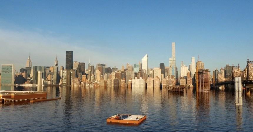 Nueva York inundada - Proyecto de los artistas Claire&Max