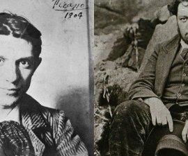 Pablo Picasso y Diego Rivera
