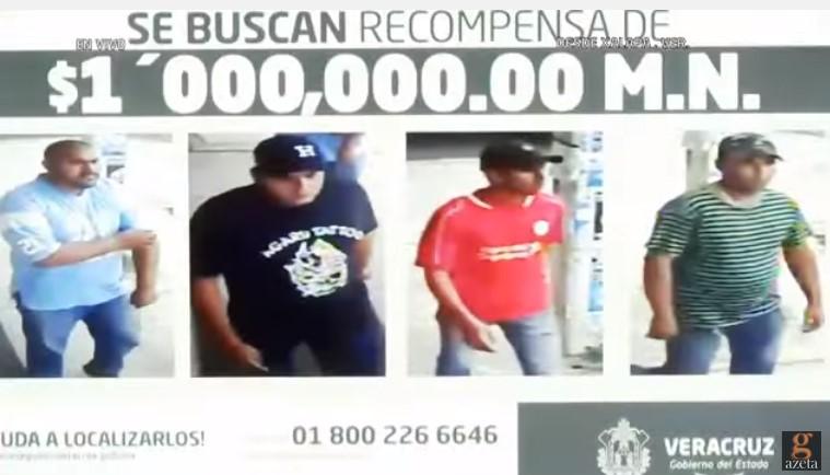 Imagen de los presuntos homicidas de mando de la PF