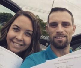 Las extrañas selfies de divorciados