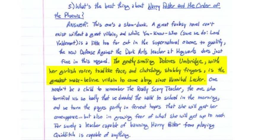 Stephen King - Harry Potter