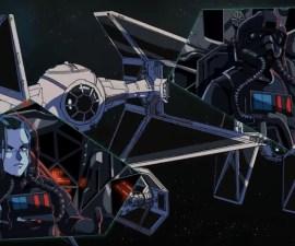 TIE Fighter - Cortometraje de Star Wars