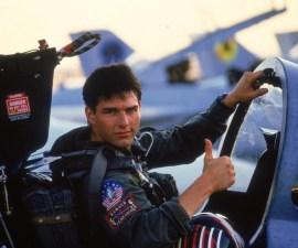Tom Cruise en Top Gun - 1986