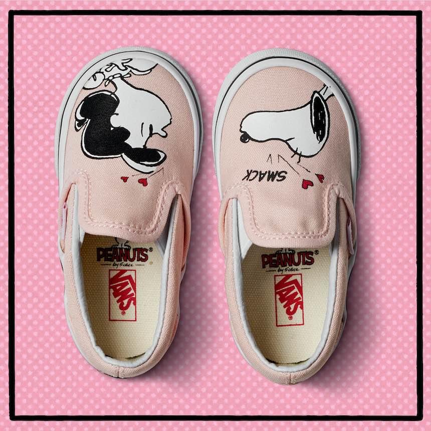 Vans de Snoopy con Violet