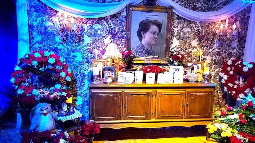 Altar de Barb - Comic-Con de San Diego