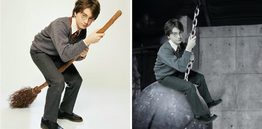 Harry Potter - Photoshop