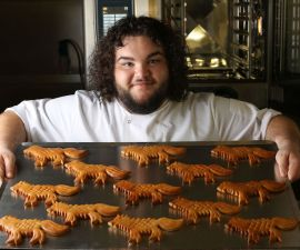 Hot Pie de Game of Thrones - Panes de lobo