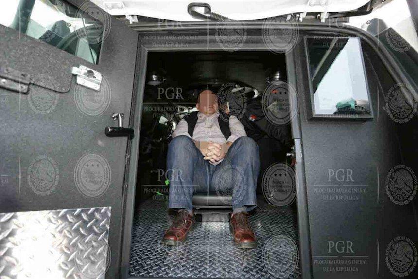 Javier Duarte de Ochoa arriba a la Ciudad de México