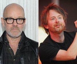 Michael Stipe apoya a Radiohead