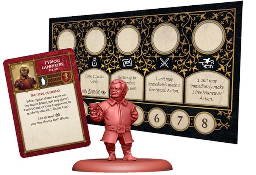 Juego de mesa - Tyron Lannister