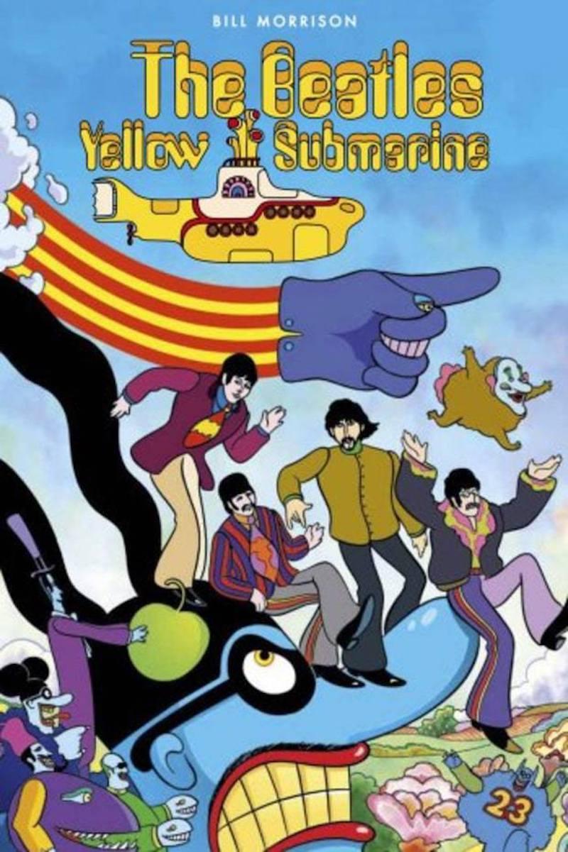 Resultado de imagen para Yellow Submarine de The Beatles tendrá un cómic