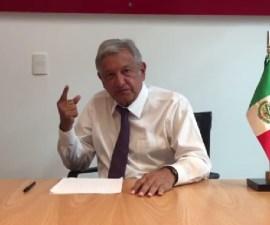 El líder nacional de Morena, Andrés Manuel López Obrador