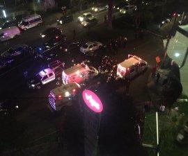Imágenes de la balacera en Paseo de Las Palmas