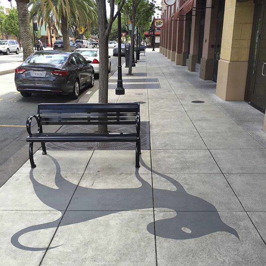 Artista callejero - Gato