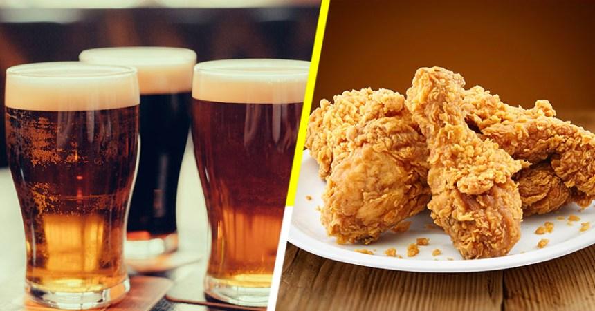 Cerveza Sabor a Pollo Frito
