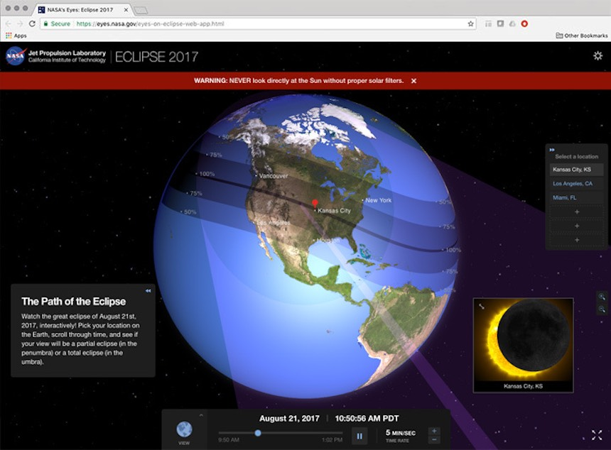 Launch Eclipse 2017 Interactive