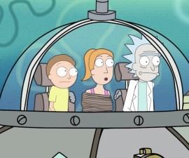 Rick and Morty - Bob Esponja