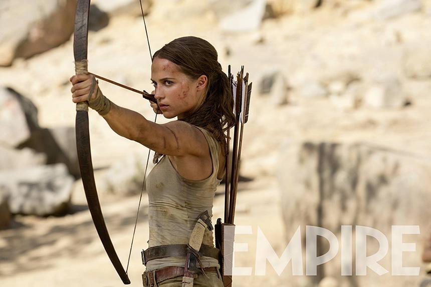 Alcia Vikander como Lara Croft