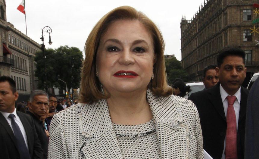 Arely Gómez, titular de la Secretaría de la Función Pública. Foto: Notimex/Javier Lira